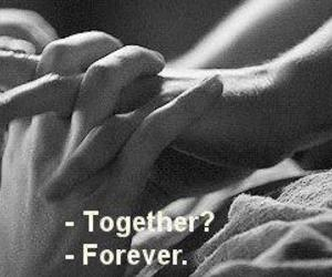love, forever, and together image