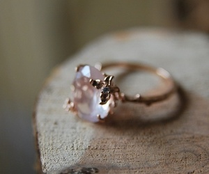 pink, ring, and soft image