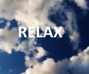 relax, be happy, and walpers image