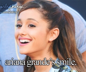 ariana grande and smile image