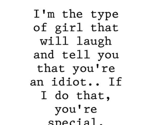 girl and laugh image