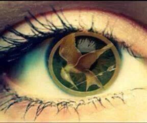 beautiful, katniss, and hunger games image