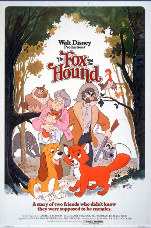 disney and the fox and the hound image