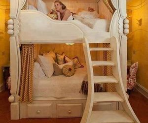 bedroom, chic, and princess image
