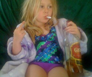 6, kid, and alcohol image
