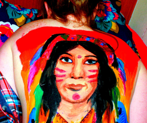 body art, culture, and painting image