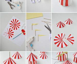 circus, diy, and Paper image