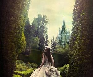 princess, castle, and dress image