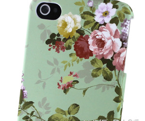 cute iphone 4 case, cute iphone 4s case, and floral iphone 4 case image