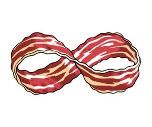 bacon, food, and forever image