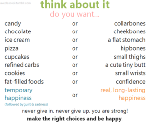 chocolate forever, food or anorexia, and rather be fat tbh image