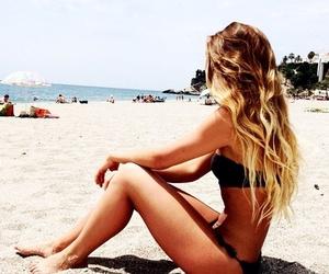 accessories, bikini, and ocean image