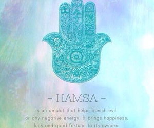 hamsa, amulet, and happiness image