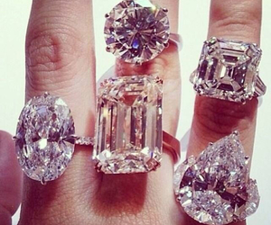 diamonds, Queen, and ring image