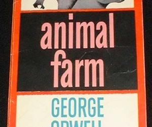 George Orwell, literature, and animal farm image