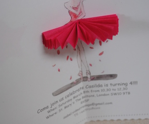 ballet, invitacion, and chuches image