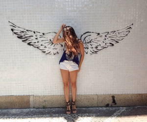 angel, fashion, and girl image