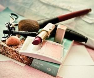 makeup, make up, and book image