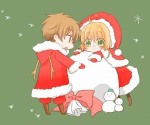 christmas, anime, and kawaii image