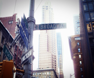 broadway, Dream, and new york image