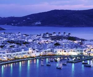Greece, mykonos, and sea image