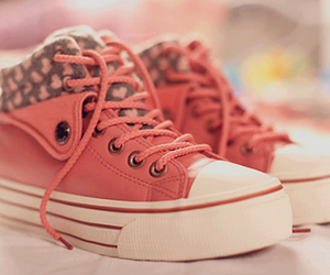 shoes, pink, and style image