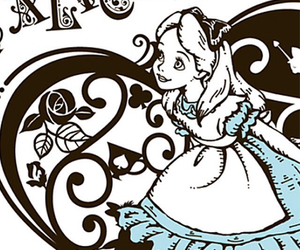 alice, alice in wonderland, and trippy image