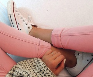 converse, Dream, and jeans image
