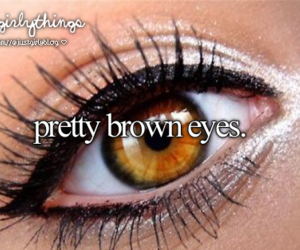 brown, eyes, and pretty image