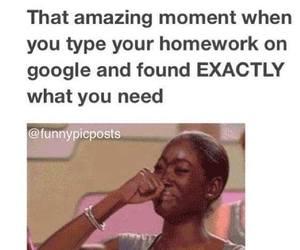 homework, google, and school image