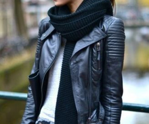 jacket, leather, and Zara image