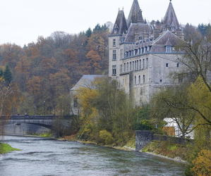 belgium, castle, and durbuy image