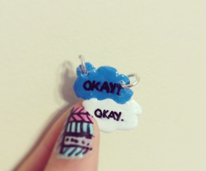 polymer clay, clay charm, and the fault in your stars image