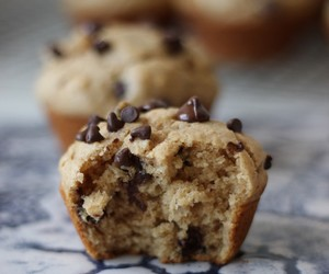 chocolate, muffins, and peanut butter image