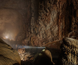cave, Vietnam, and hang son doong image