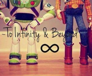buzz, toy story, and woody image