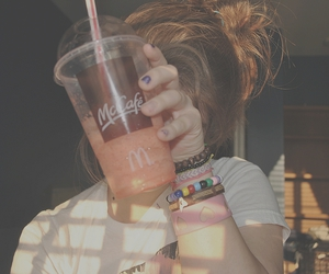 bracelets, slushie, and summer image