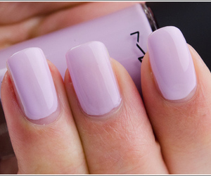 nails, purple, and mac image