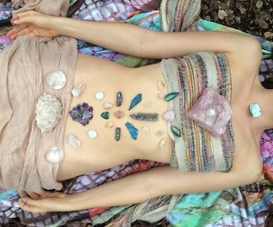 crystal and hippie image