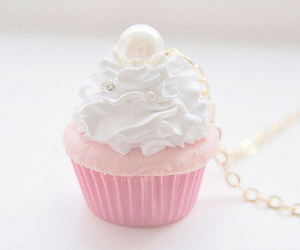 cupcake, pink, and sweet image