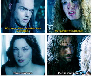aragorn, hope, and liv tyler image