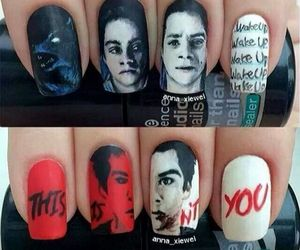 teen wolf, nails, and dylan o'brien image