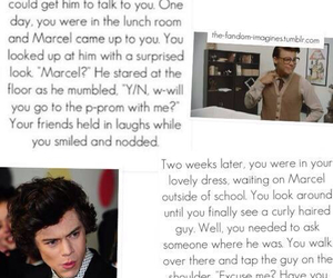 marcel, Harry Styles, and imagine image