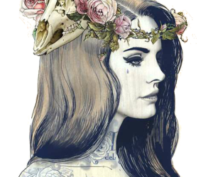 lana del rey, art, and drawing image