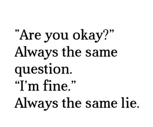 lies, quote, and okay image