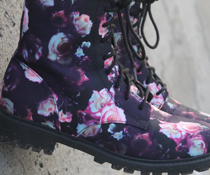 fashion, boots, and hipster image