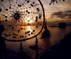 dreamcatcher, indian, and life image