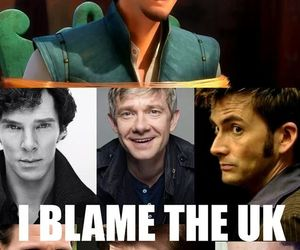 disney, sherlock, and uk image