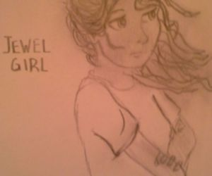 drawing, hazel, and percy jackson image
