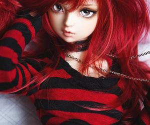 beautiful, red hair, and long hair image